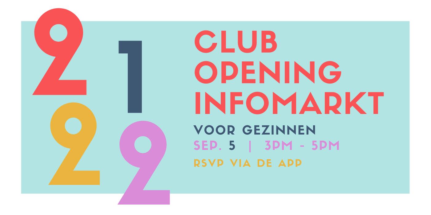Jeugdclub De Borcht Opening